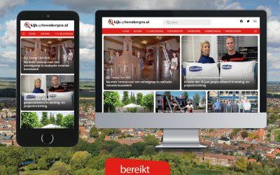 47% meer bezochte pagina's KijkopSteenbergen.nl