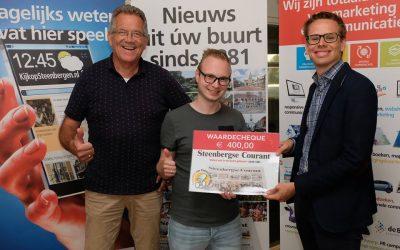 Leuke ondersteuning voor Kleine Tour Steenbergen