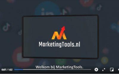 Met trots presenteren wij MarketingTools!