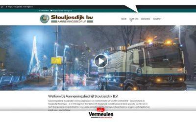 Nieuwe website voor Stoutjesdijk Rioleringen