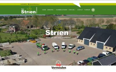 De nieuwe website van hovenier Van Strien staat online